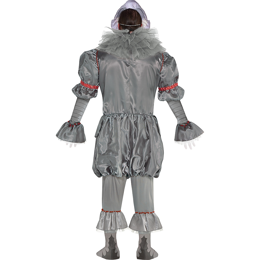 Nav Item for Adult Tattered Pennywise Costume Plus Size - It Chapter Two Image #3