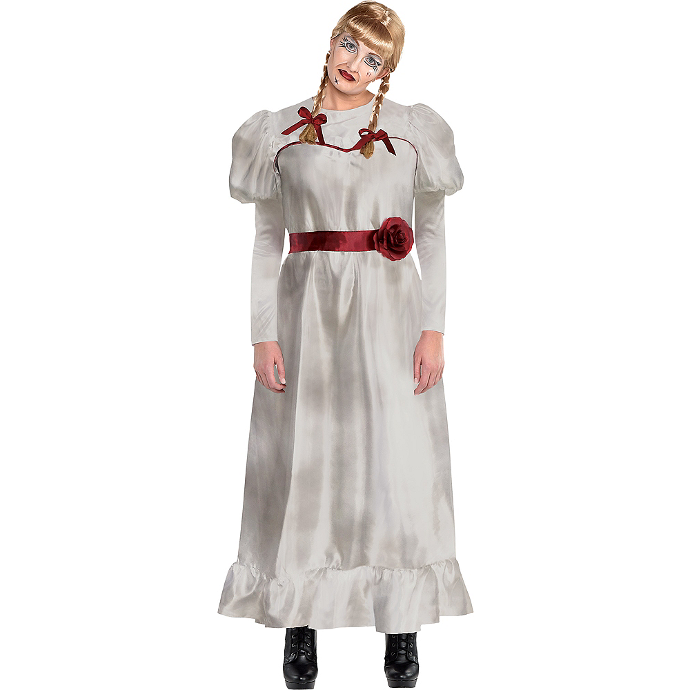 Adult Annabelle Costume Plus Size - Annabelle Comes Home Image #1