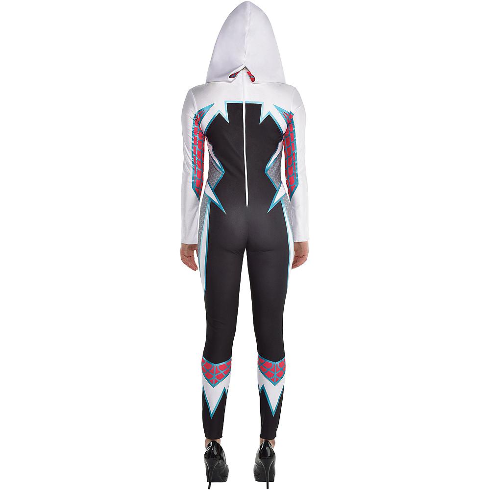 Nav Item for Adult Ghost Spider Costume Image #2