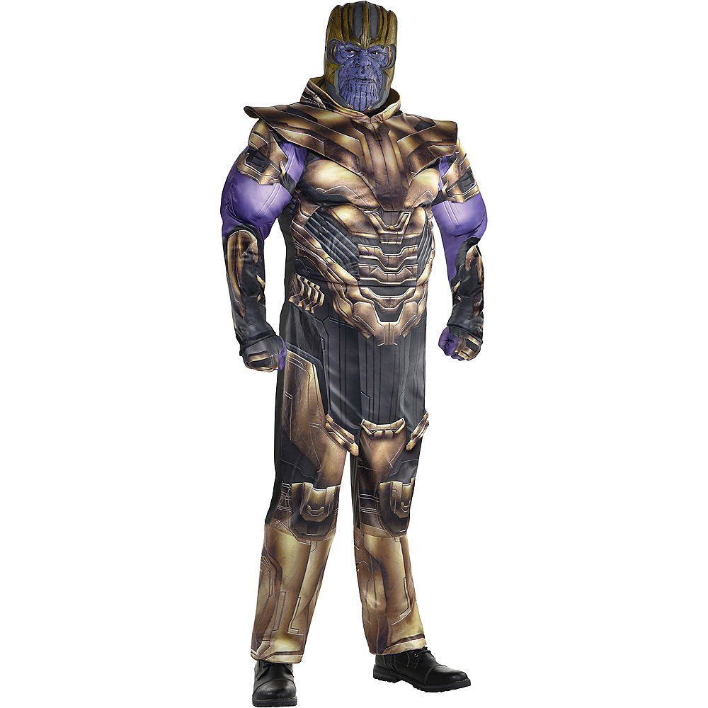 Adult Thanos Muscle Costume Plus Size - Avengers: Endgame Image #1