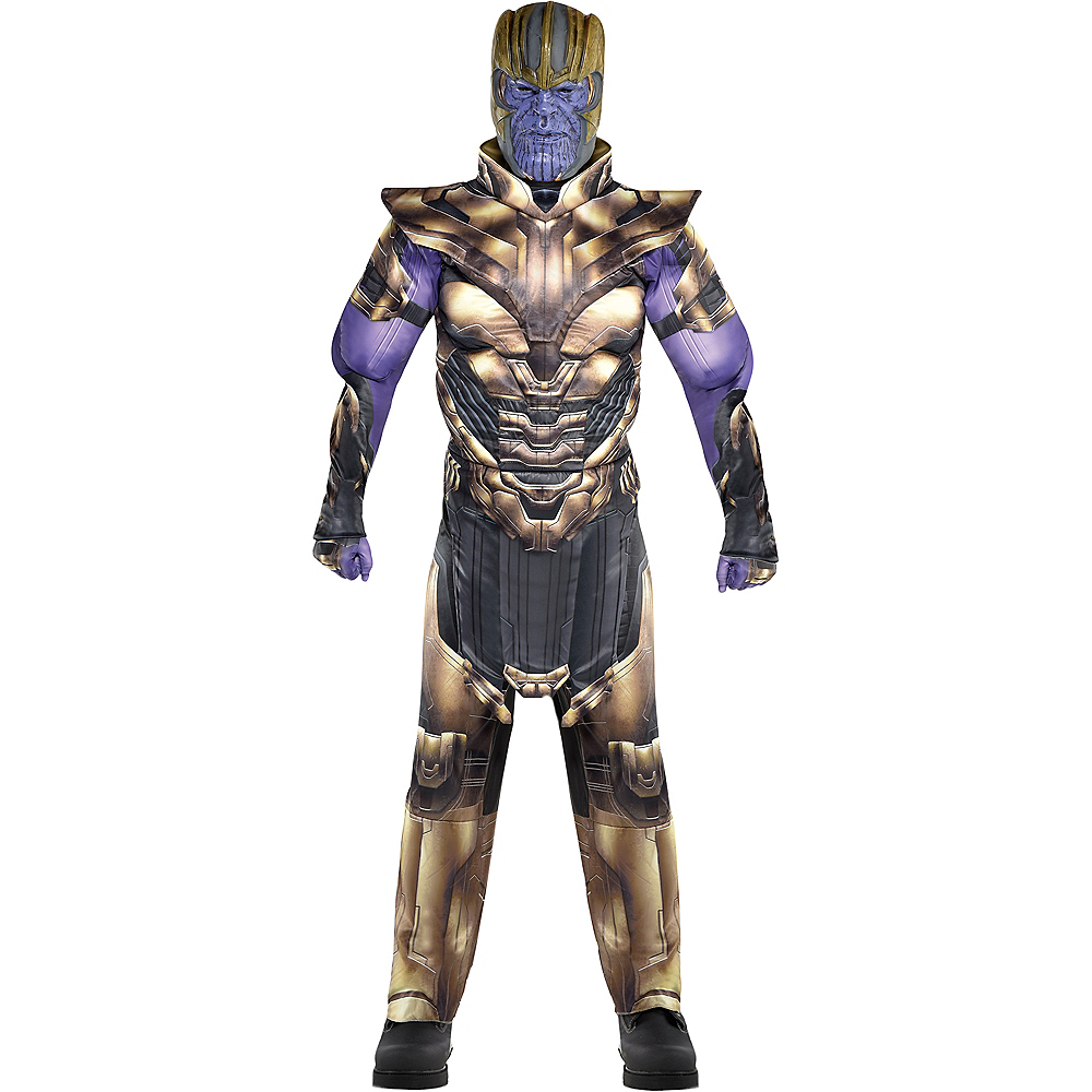 Adult Thanos Muscle Costume - Avengers: Endgame Image #1