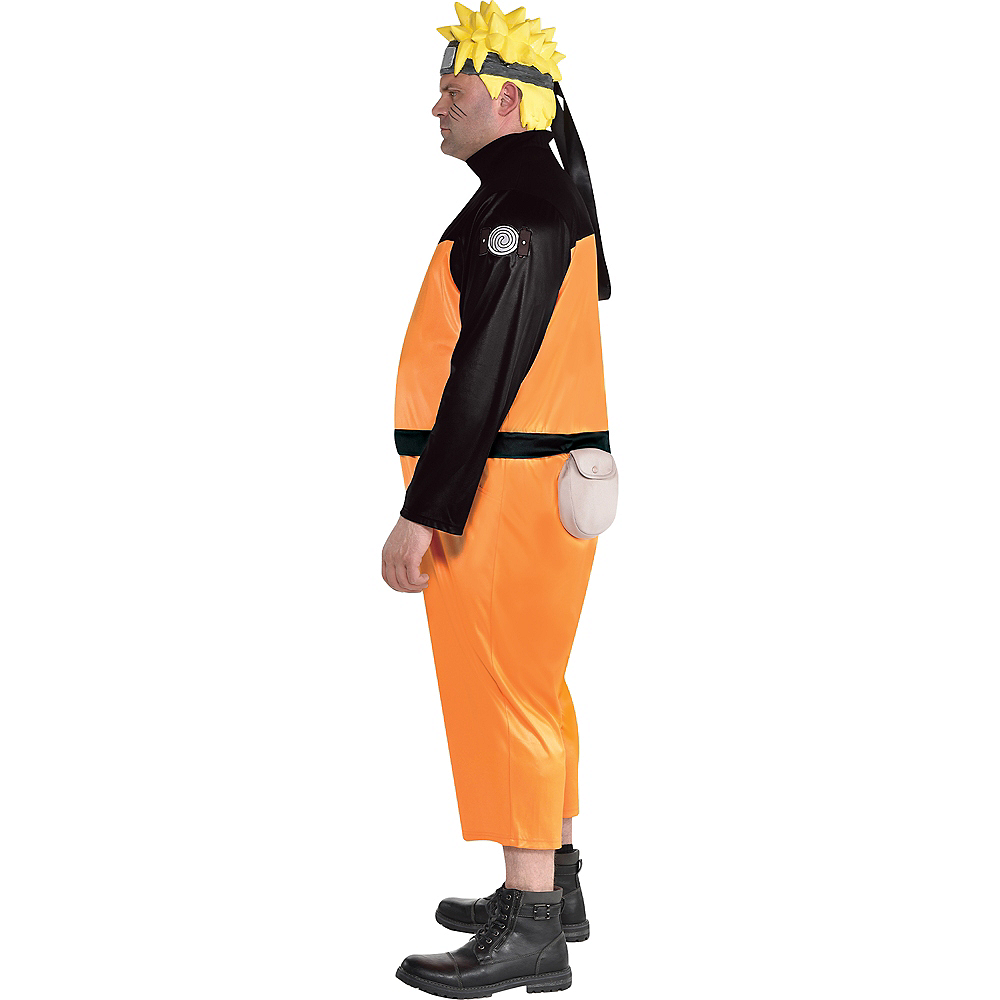Adult Naruto Costume Plus Size Image #2