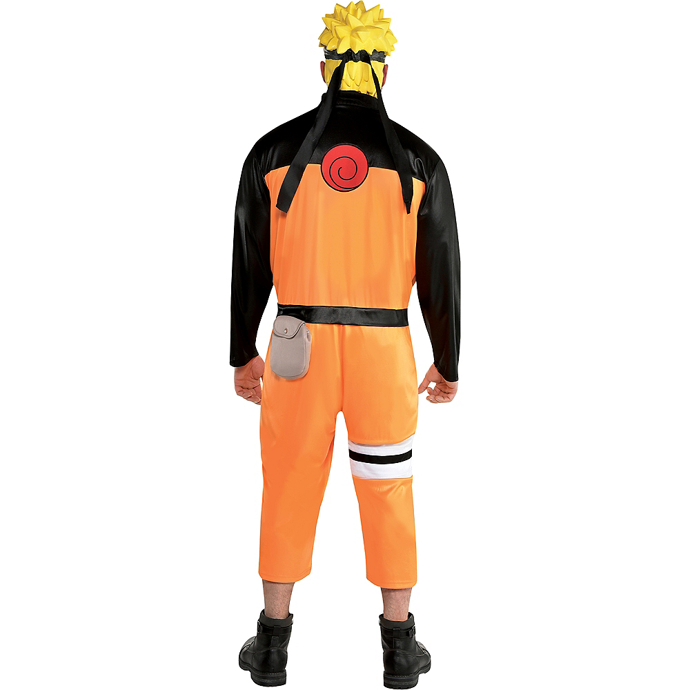 Adult Naruto Costume Plus Size Image #3