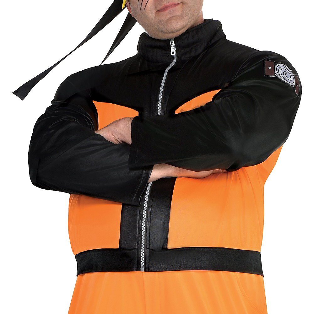 Adult Naruto Costume Plus Size Image #4