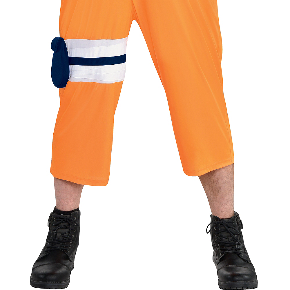 Adult Naruto Costume Plus Size Image #5