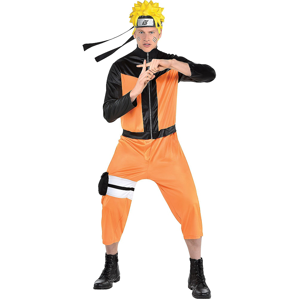 Nav Item for Adult Naruto Costume Image #1