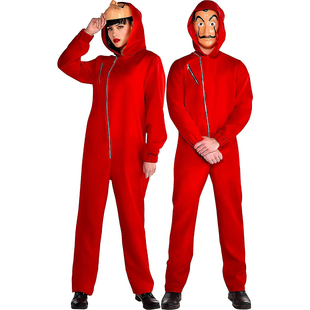 Adult Money Heist Costume Image #1