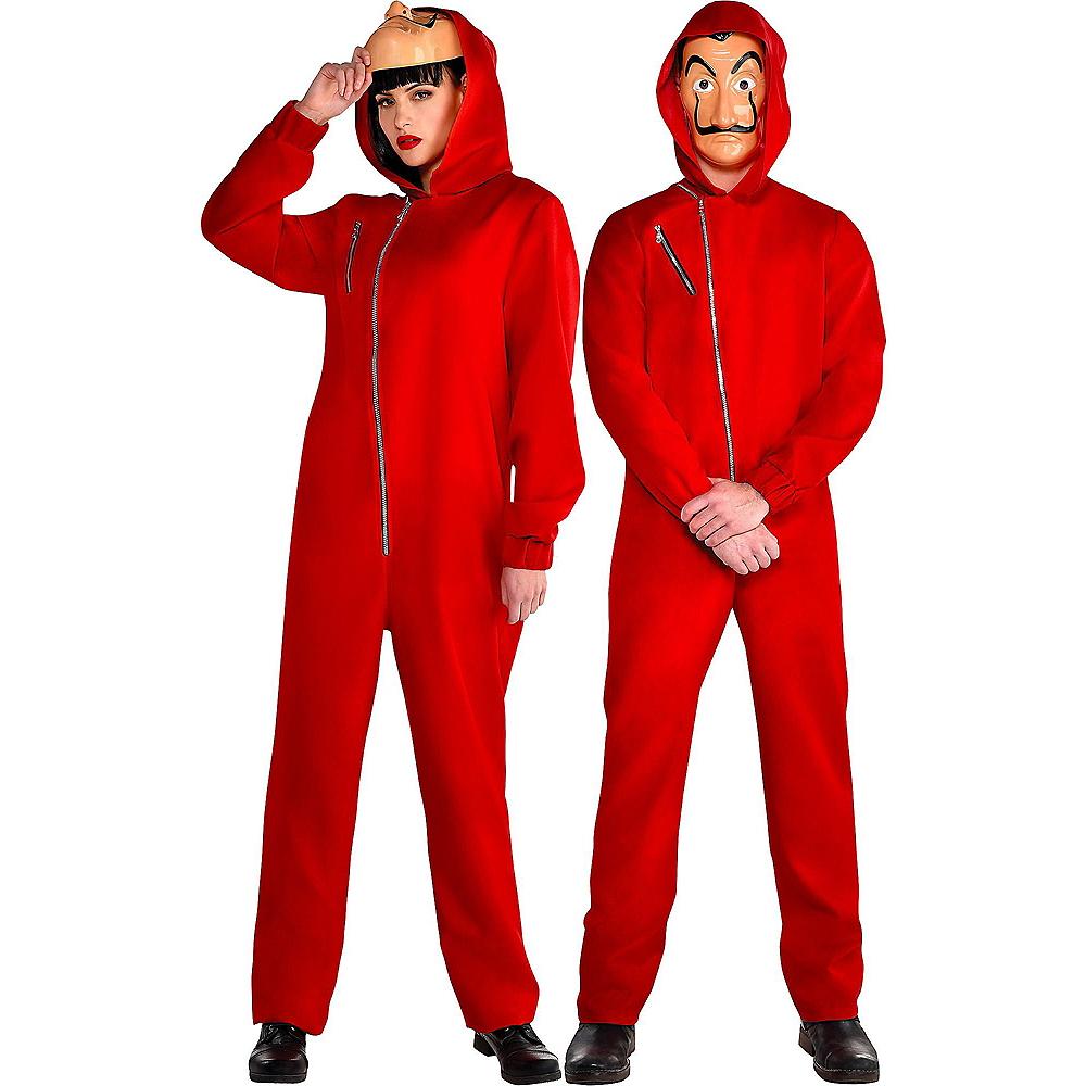 Adult Money Heist Costume Image #1