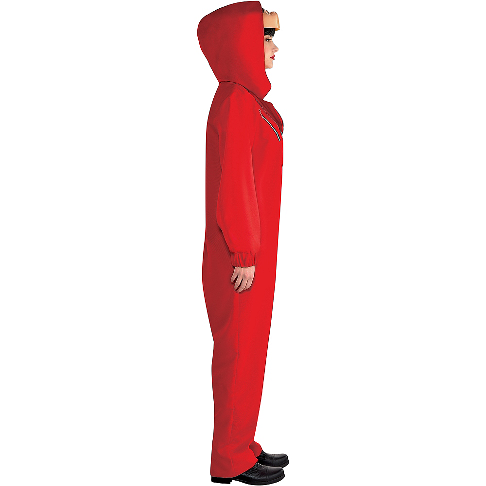 Adult Money Heist Costume Image #2