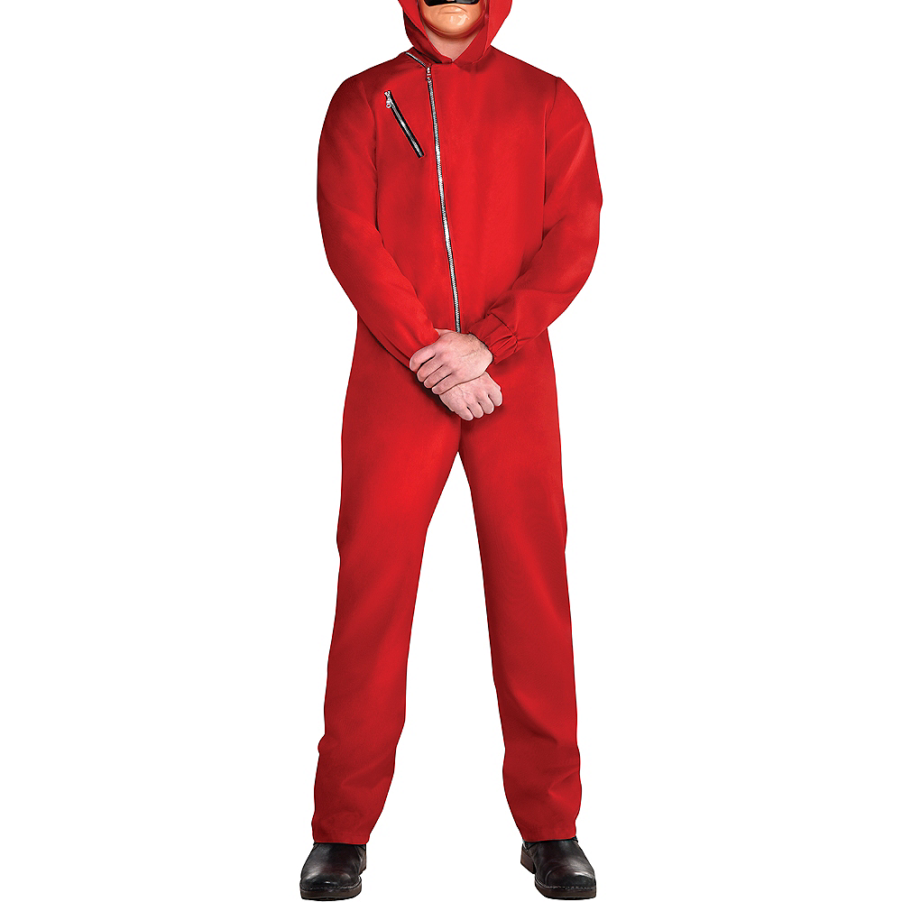 Adult Money Heist Costume Image #3