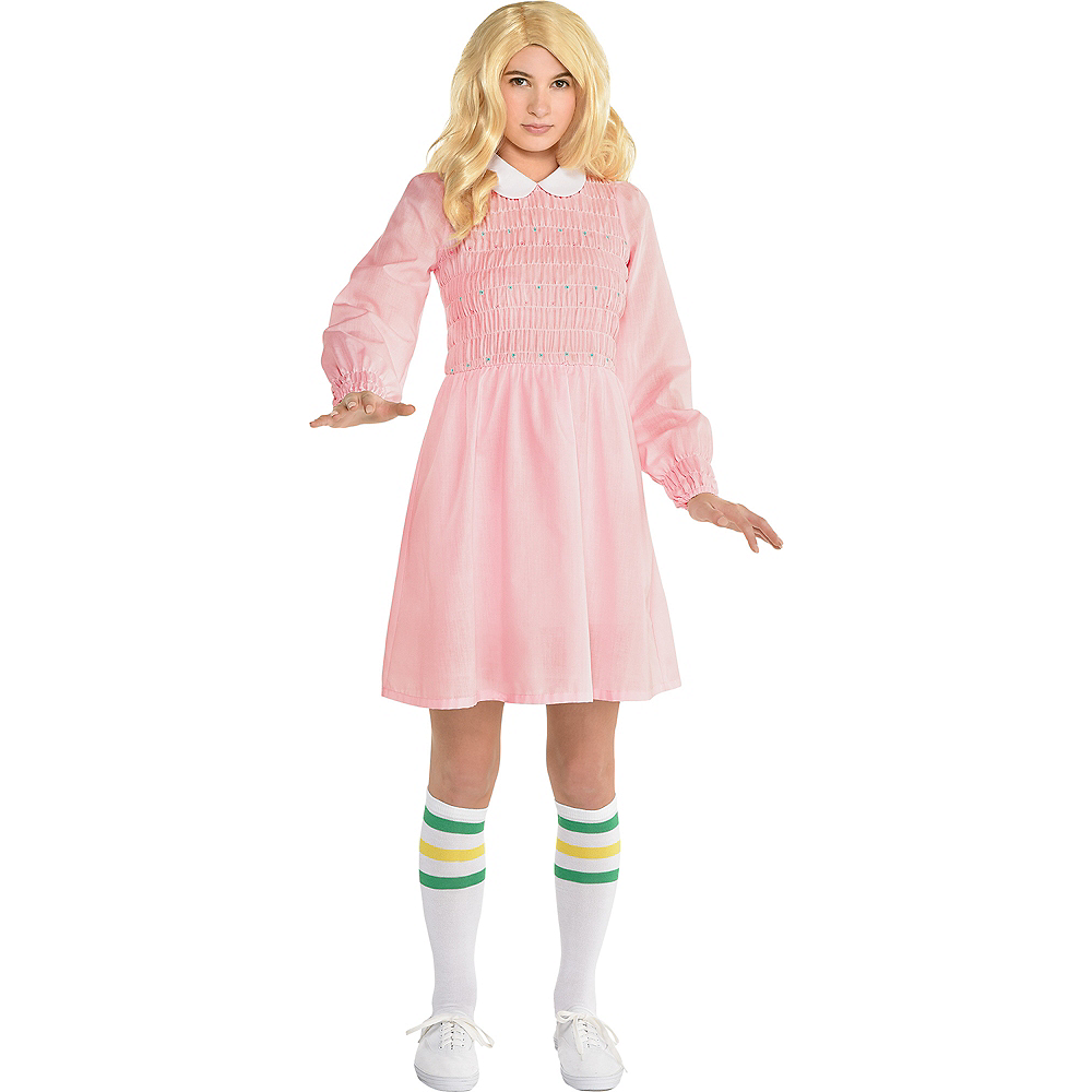 Nav Item for Child Eleven Costume - Stranger Things Image #1