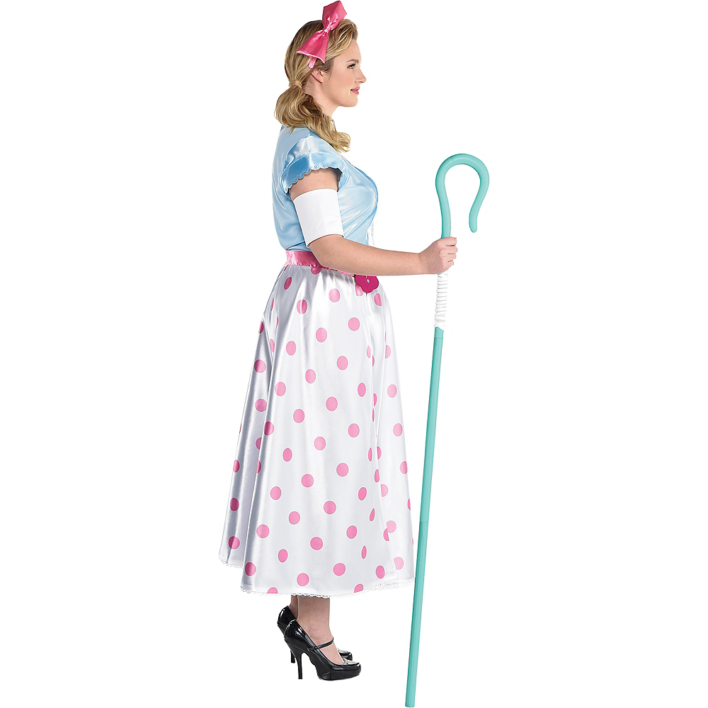 Nav Item for Adult Bo Peep Costume Plus Size - Toy Story 4 Image #3