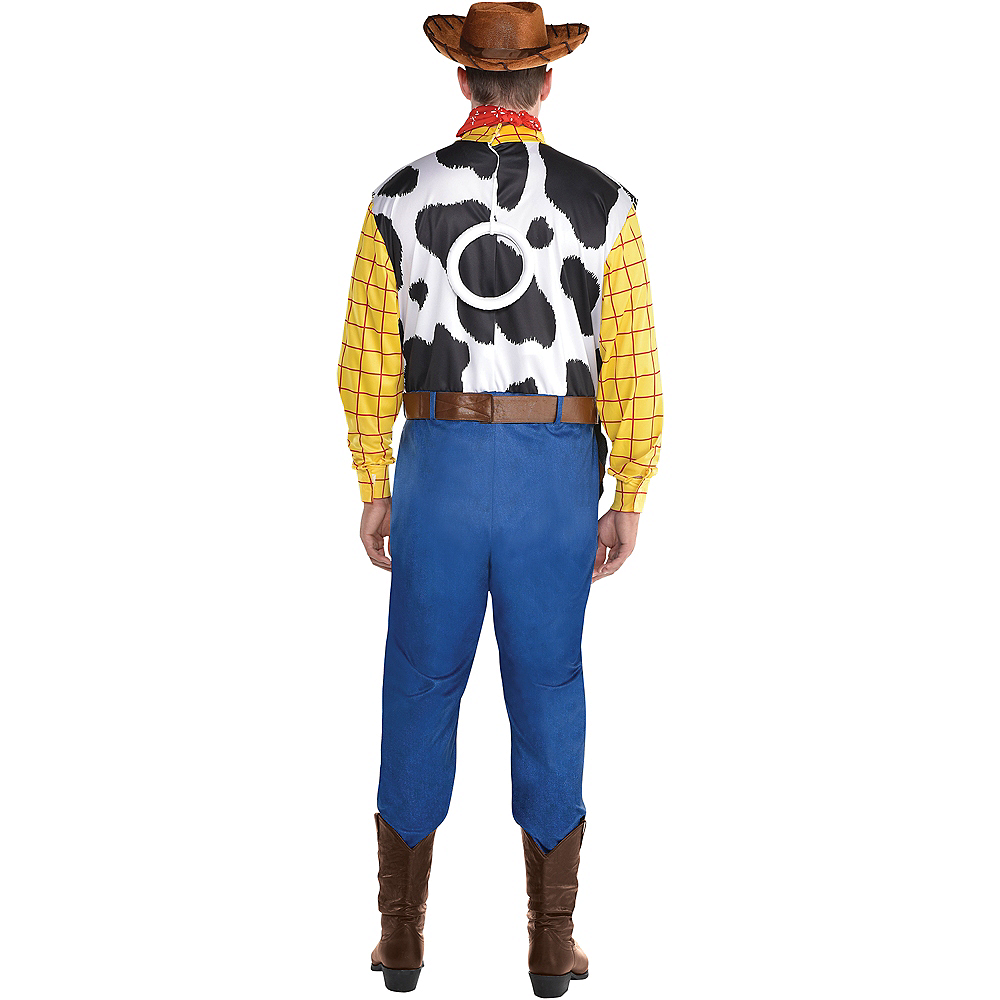 Adult Woody Costume Plus Size - Toy Story 4 Image #2