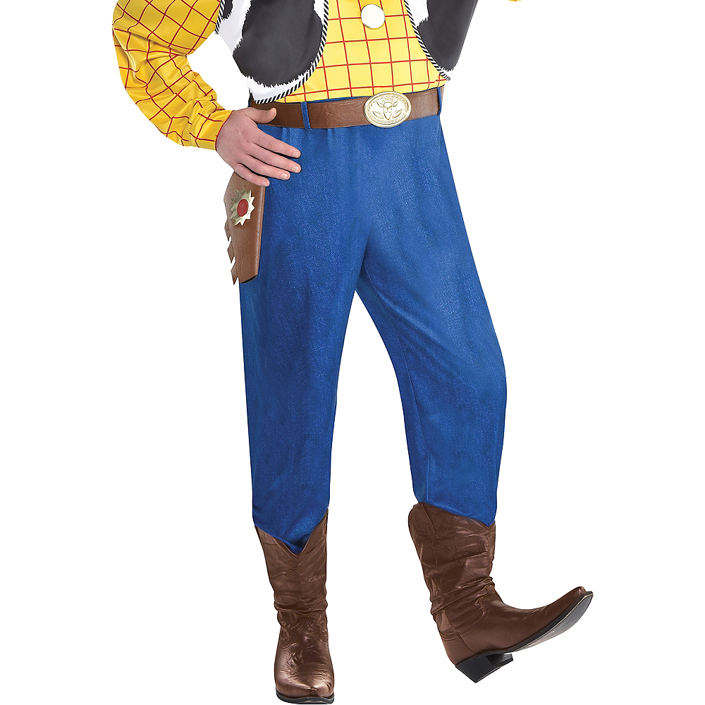 Adult Woody Costume Plus Size - Toy Story 4 Image #5