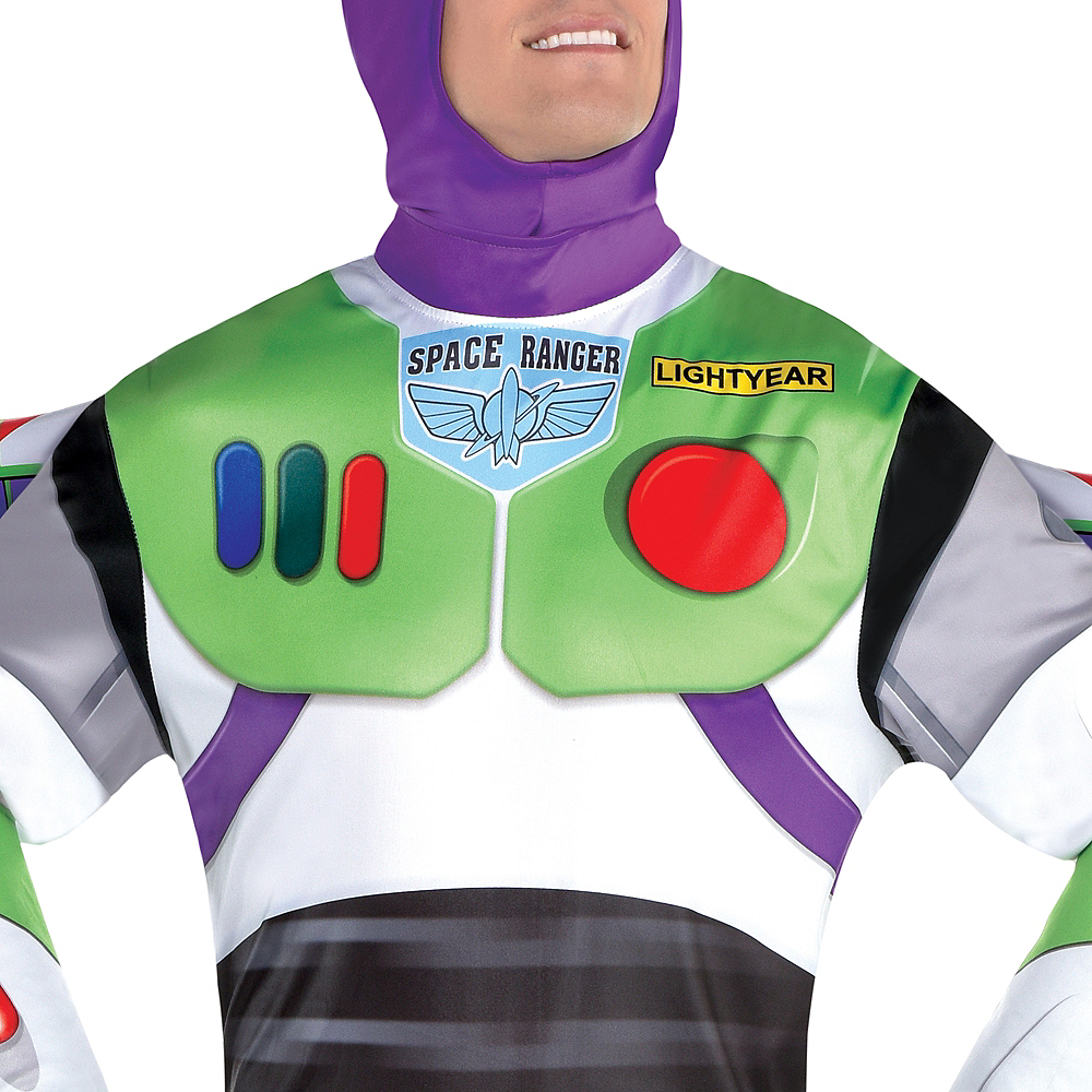 Adult Buzz Lightyear Costume - Toy Story 4 Image #4