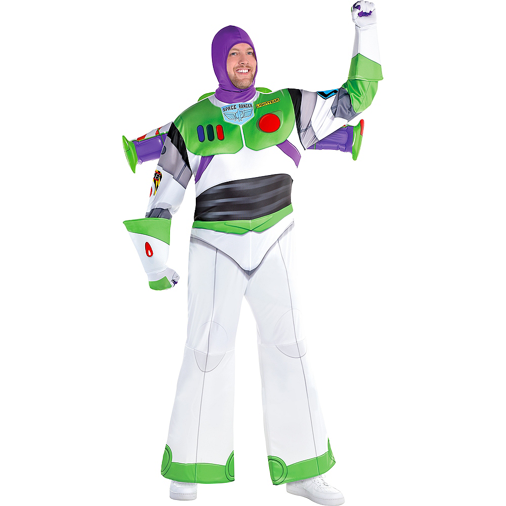 Adult Buzz Lightyear Costume Plus Size - Toy Story 4 Image #1