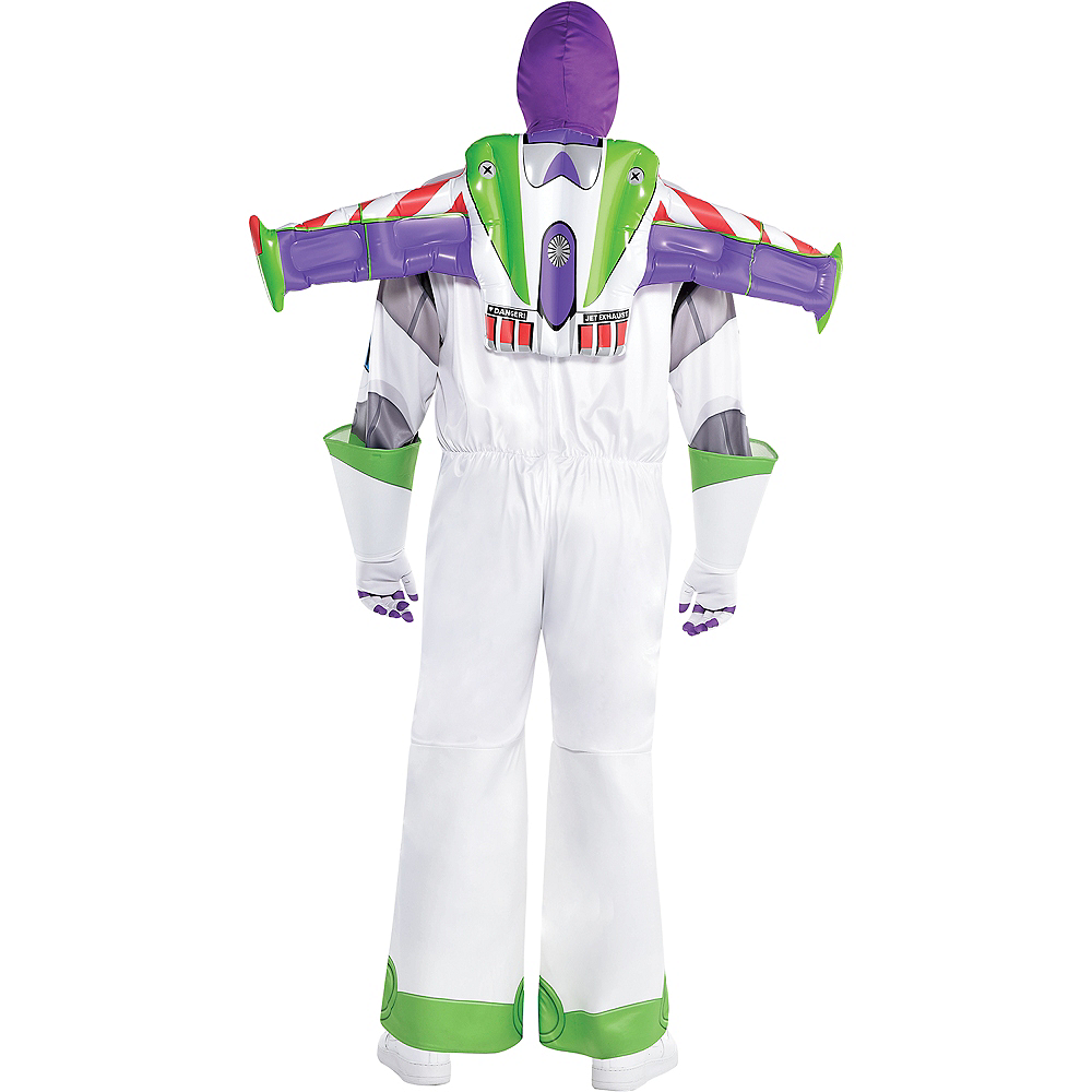 Adult Buzz Lightyear Costume Plus Size - Toy Story 4 Image #3