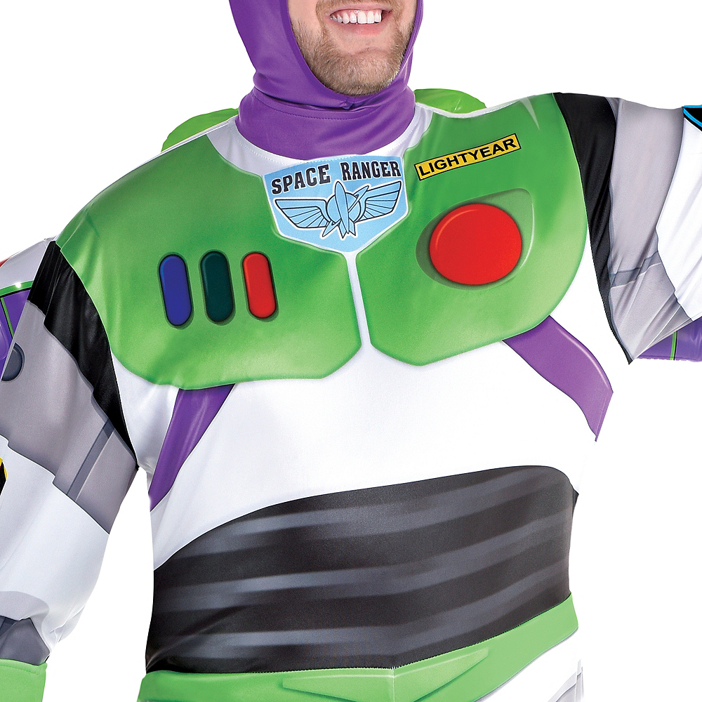 Adult Buzz Lightyear Costume Plus Size - Toy Story 4 Image #4