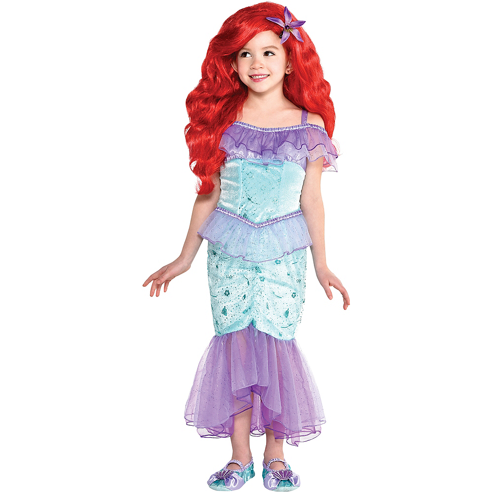 Nav Item for Child Ariel Costume - The Little Mermaid Image #1
