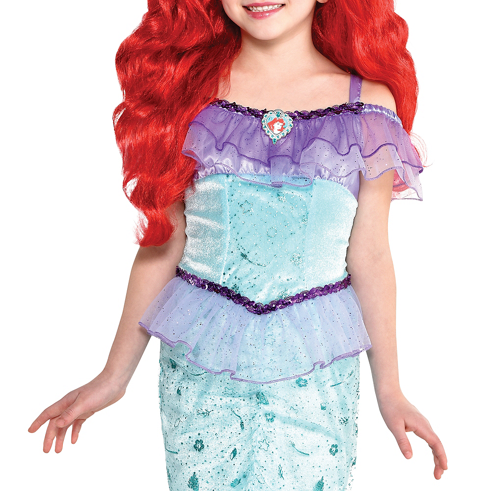 Nav Item for Child Ariel Costume - The Little Mermaid Image #3