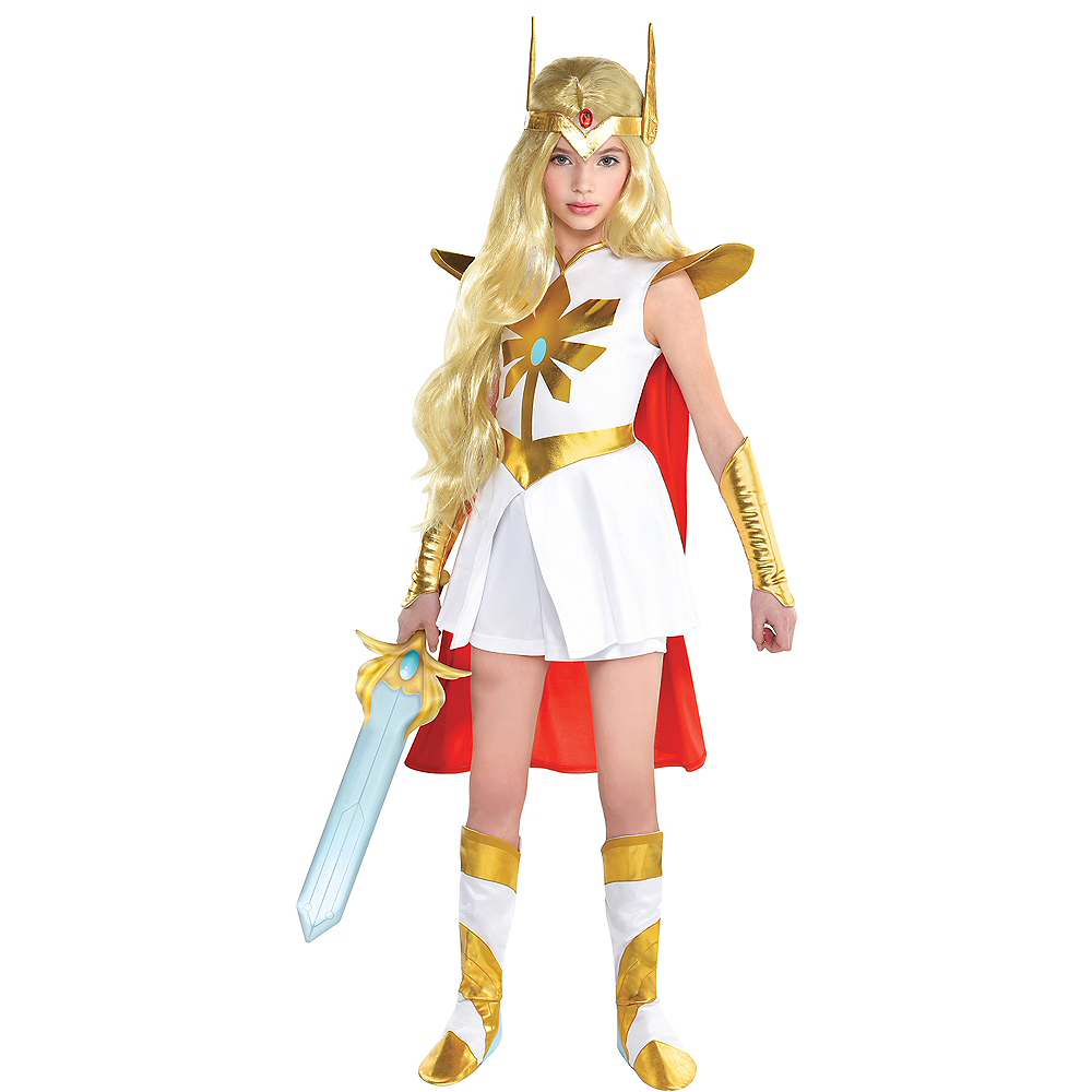 Child She-Ra Costume Image #1