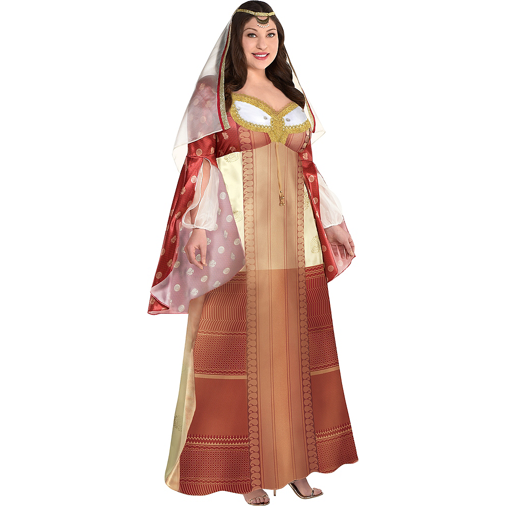 Adult Dalia Costume Plus Size - Aladdin Live-Action Image #1