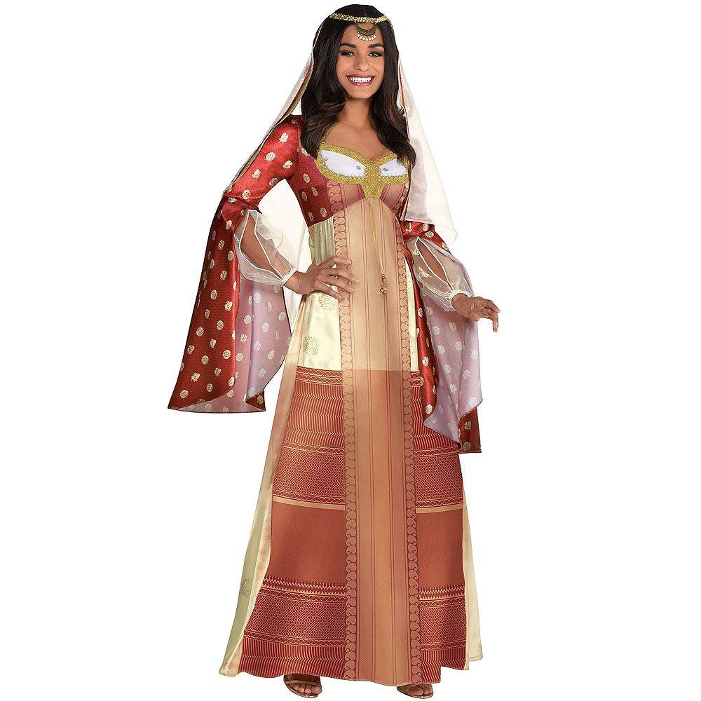 Nav Item for Adult Dalia Costume - Aladdin Live-Action Image #1
