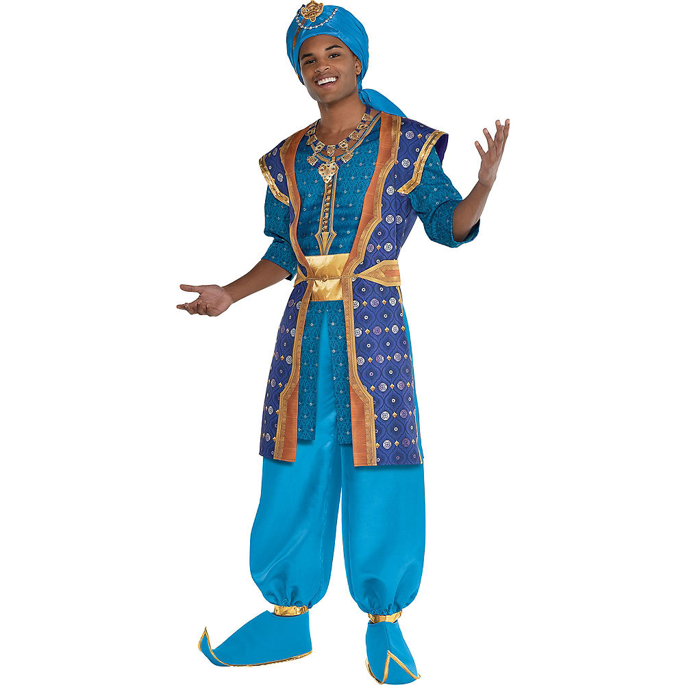 Adult Genie Parade Costume - Aladdin Live Action Image #1