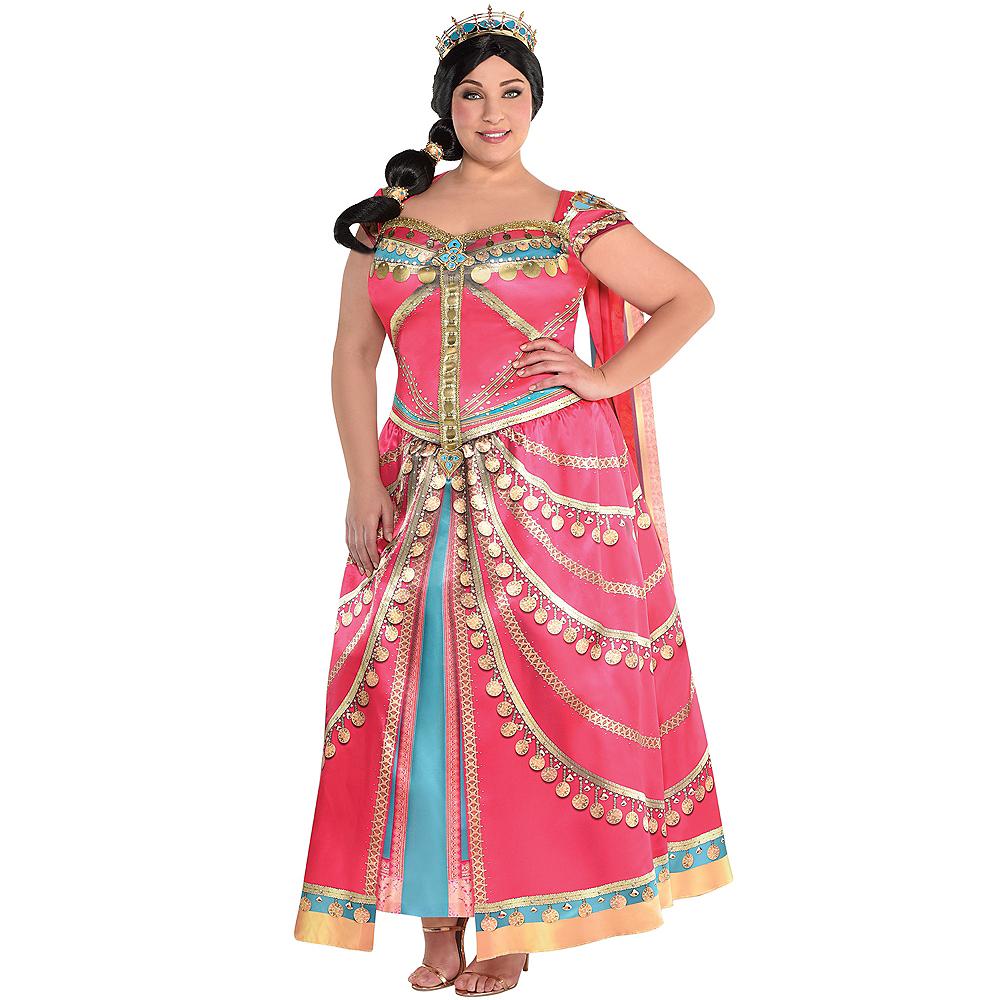 Adult Royal Jasmine Costume Plus Size Aladdin Live Action