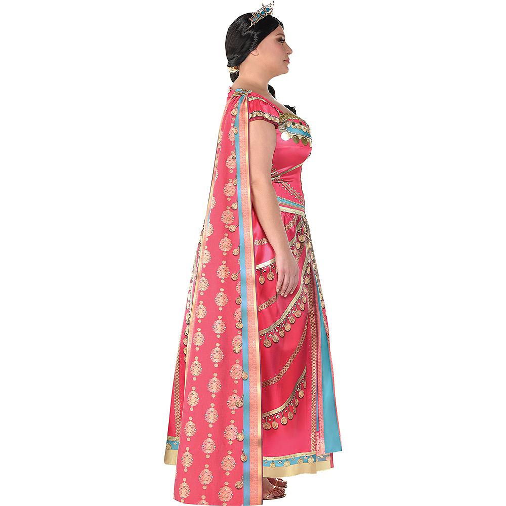 Adult Royal Jasmine Costume Plus Size - Aladdin Live-Action Image #3