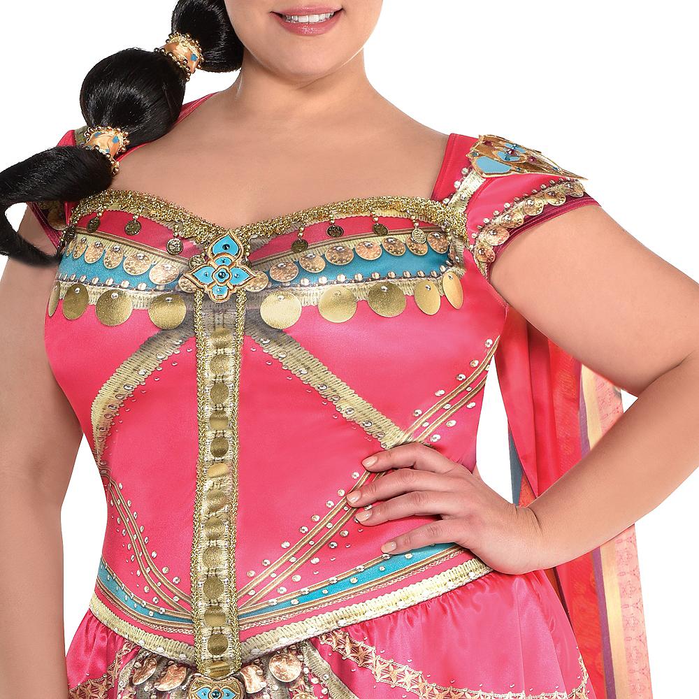 Adult Royal Jasmine Costume Plus Size - Aladdin Live-Action Image #4