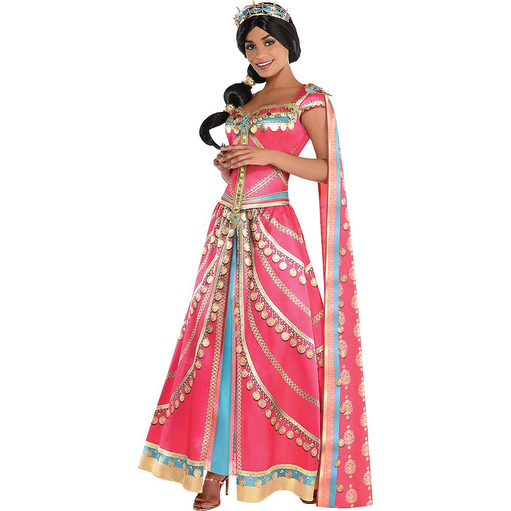 Adult Royal Jasmine Costume Aladdin Live Action