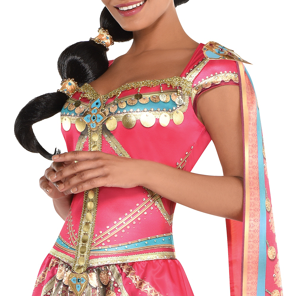 Adult Royal Jasmine Costume - Aladdin Live-Action Image #2