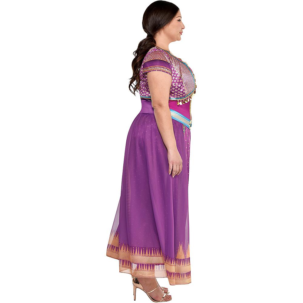 Adult Purple Jasmine Costume Plus Size - Aladdin Live-Action Image #2