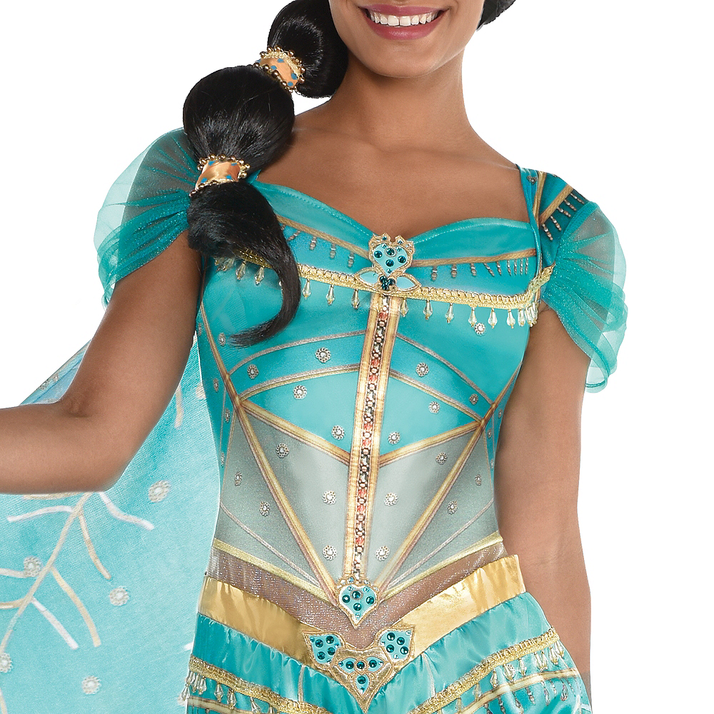 Adult Jasmine Whole New World Costume - Aladdin Live-Action Image #4
