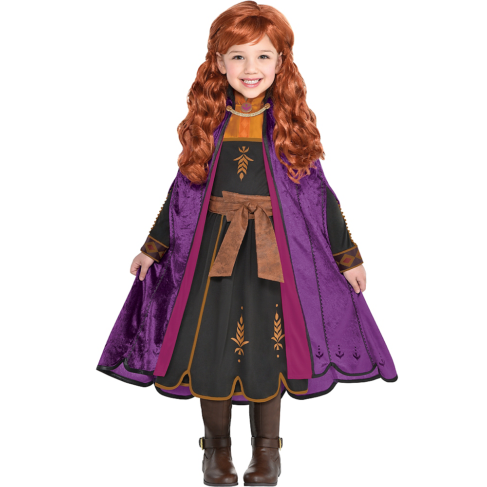 Nav Item for Child Act 2 Anna Costume - Frozen 2 Image #1