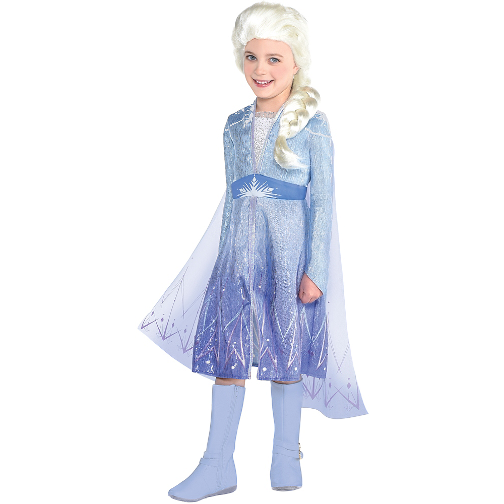 Nav Item for Child Act 2 Elsa Costume - Frozen 2 Image #1
