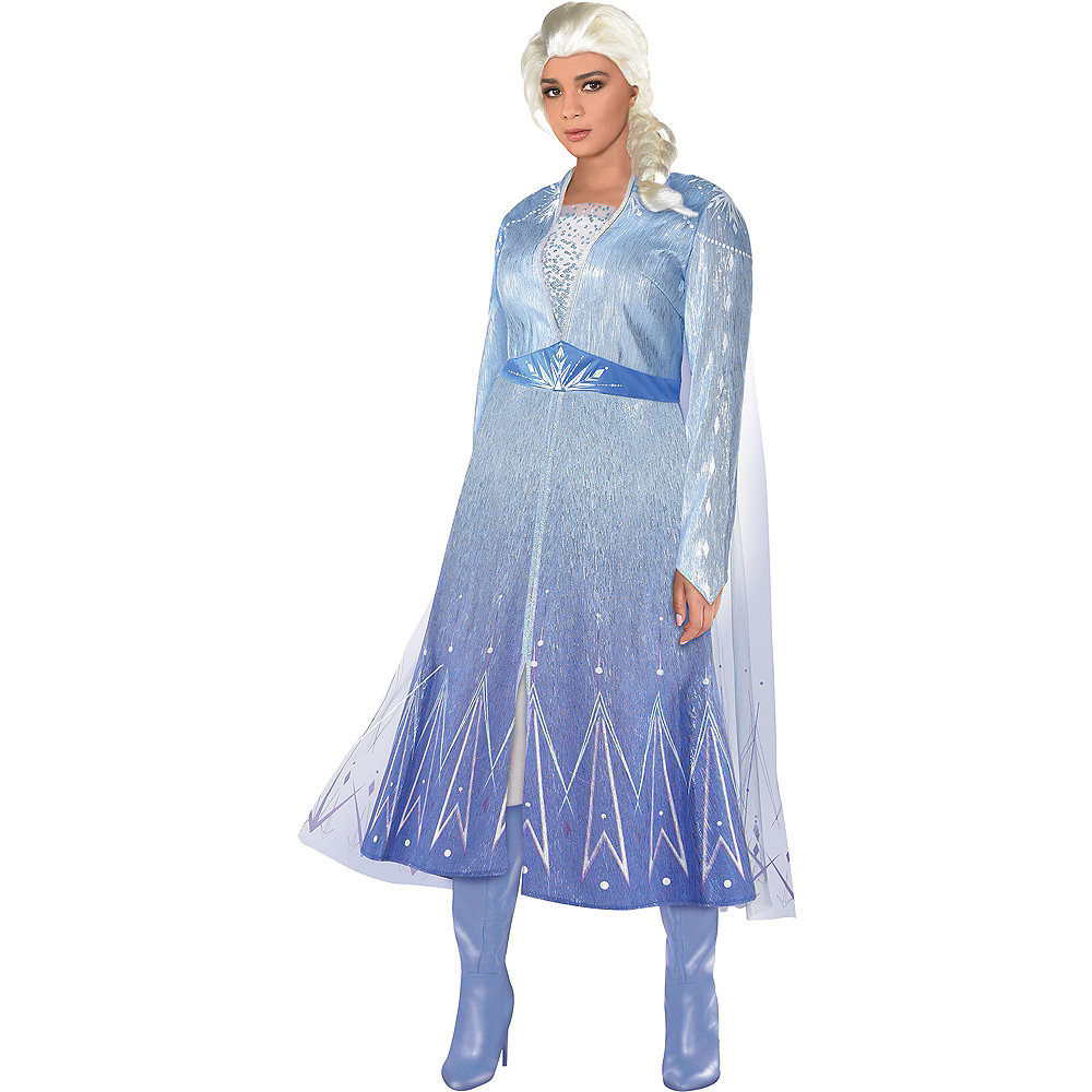 Adult Act 2 Elsa Costume Plus Size - Frozen 2 Image #1