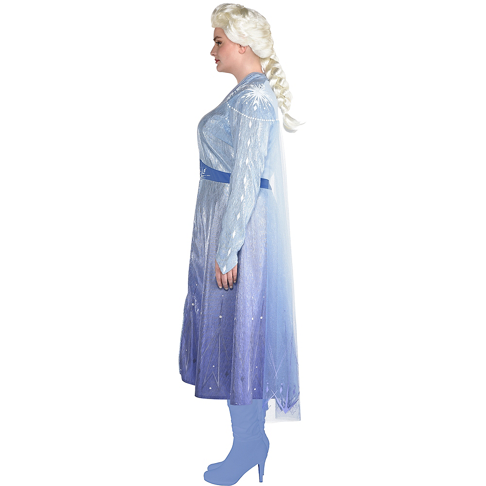 Adult Act 2 Elsa Costume Plus Size - Frozen 2 Image #2