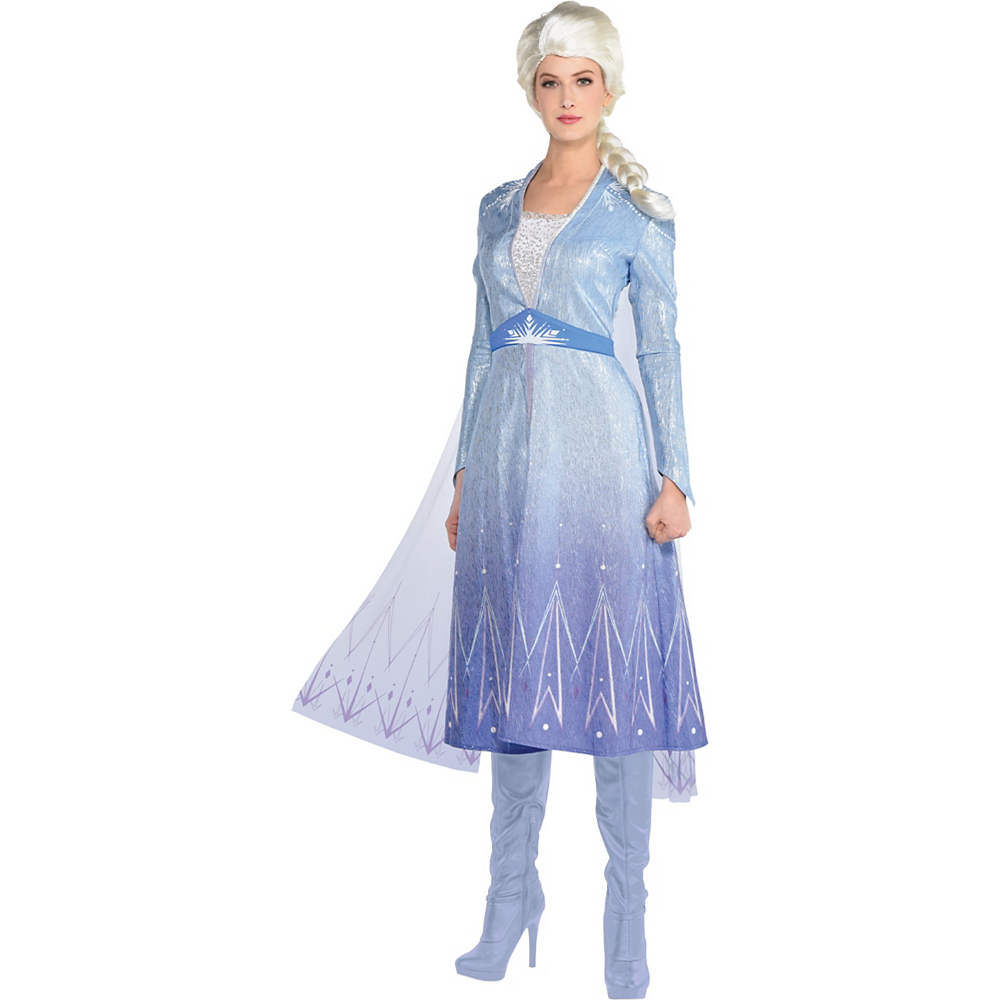 Nav Item for Adult Act 2 Elsa Costume - Frozen 2 Image #1