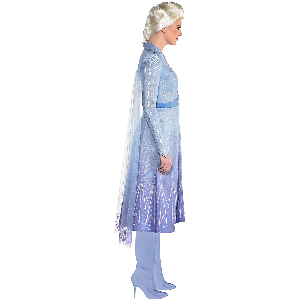 Nav Item for Adult Act 2 Elsa Costume - Frozen 2 Image #2