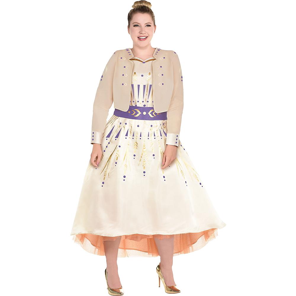Adult Act 1 Anna Costume Plus Size - Frozen 2 Image #1
