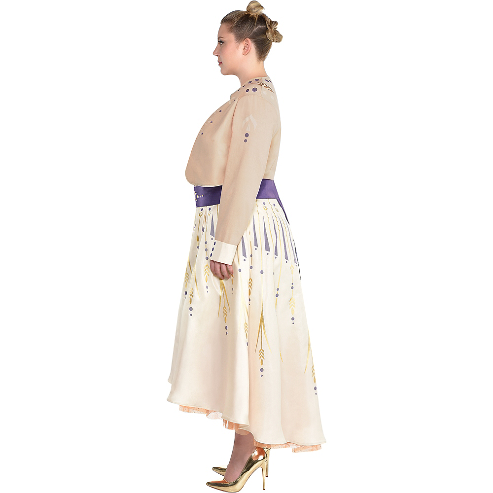 Adult Act 1 Anna Costume Plus Size - Frozen 2 Image #2