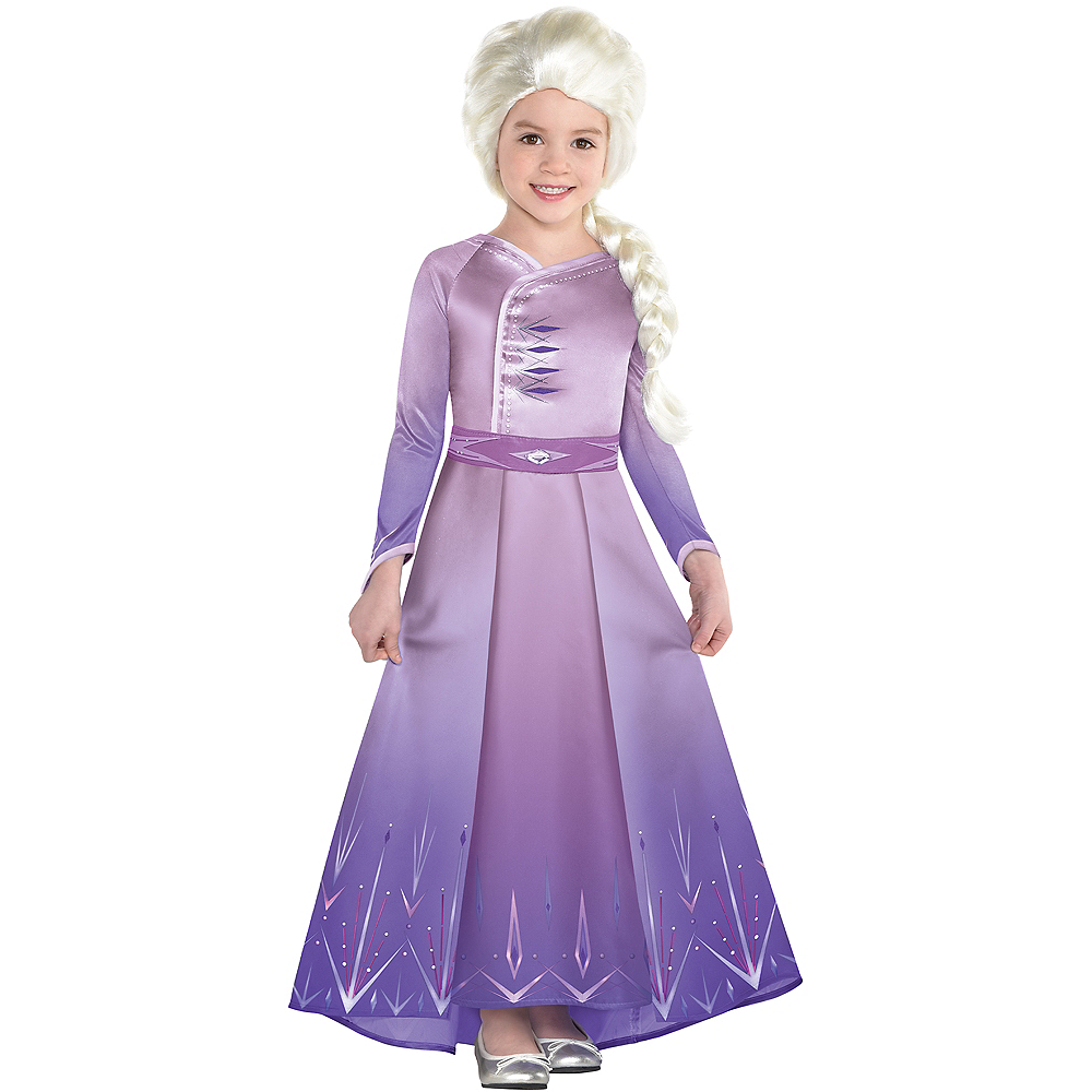 Nav Item for Child Act 1 Elsa Costume - Frozen 2 Image #1