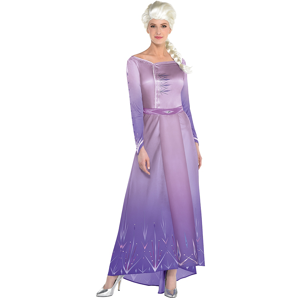 Nav Item for Adult Act 1 Elsa Costume - Frozen 2 Image #1