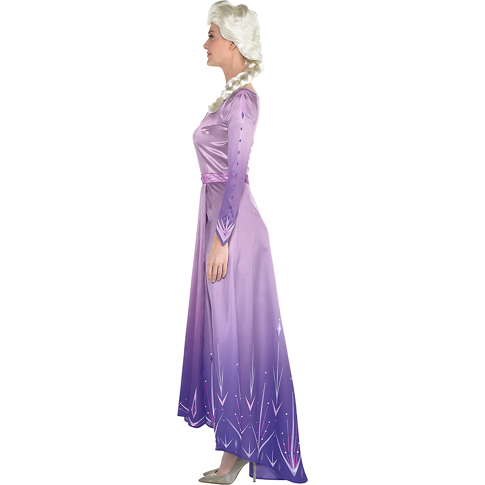 Nav Item for Adult Act 1 Elsa Costume - Frozen 2 Image #2