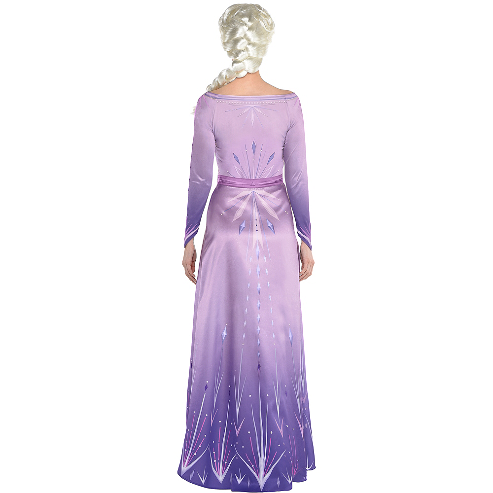 Nav Item for Adult Act 1 Elsa Costume - Frozen 2 Image #3