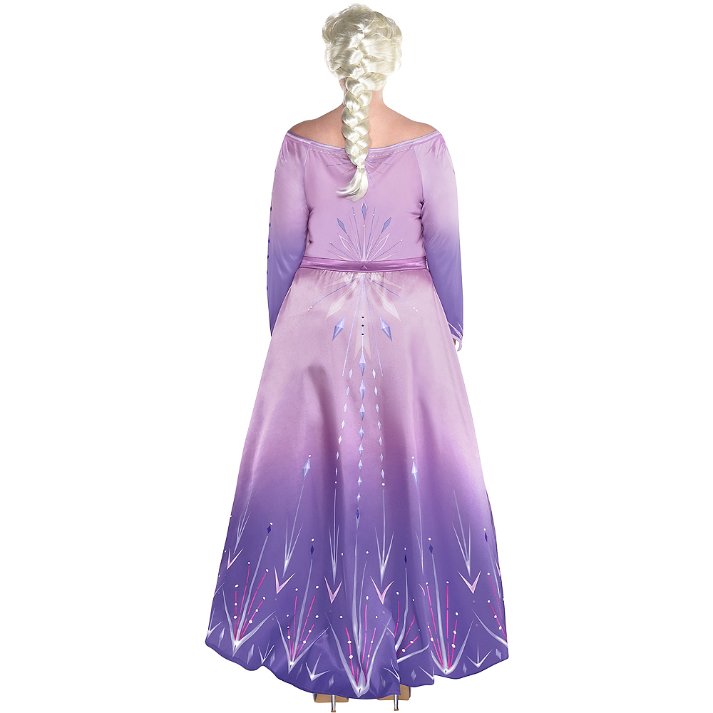 Nav Item for Adult Act 1 Elsa Costume Plus Size - Frozen 2 Image #3