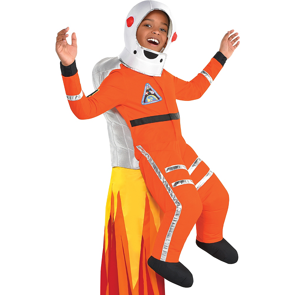 Nav Item for Child Astronaut Ride-On Costume Image #3