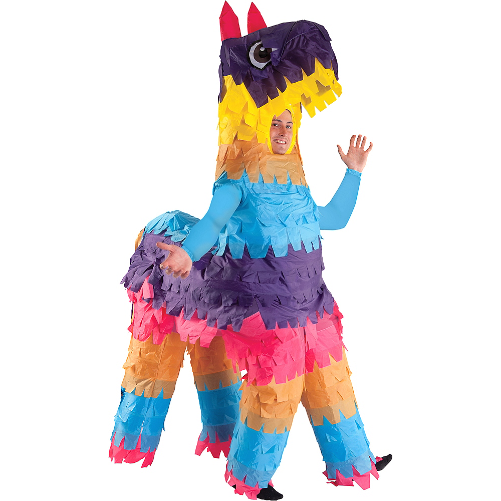 Adult Inflatable Donkey Pinata Costume Image #1